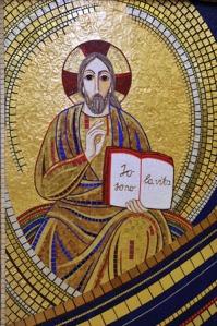 Cristo in gloria Cripta della chiesa inferiore di San Pio da Pietrelcina San Giovanni Rotondo (FG) - Italia