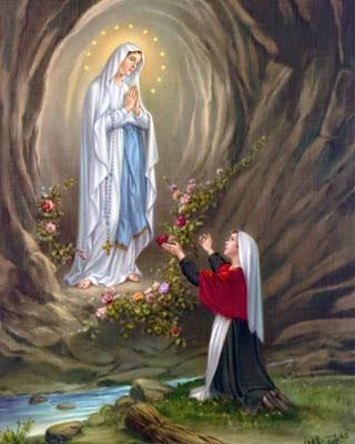 Risultati immagini per Beata Vergine Maria di Lourdes 11 febbraio - Memoria Facoltativa