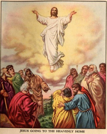 Risultato immagine per gesù ascende al cielo