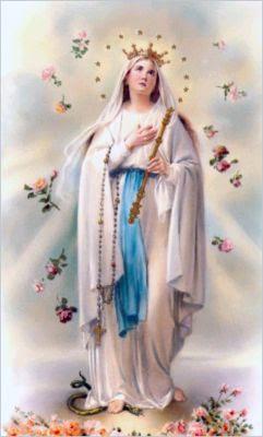 Risultato immagine per a maria contro le invadenze diaboliche